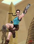 Lara Croft in Egypt