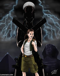Lara Croft - When I grow up by SteveNoble197