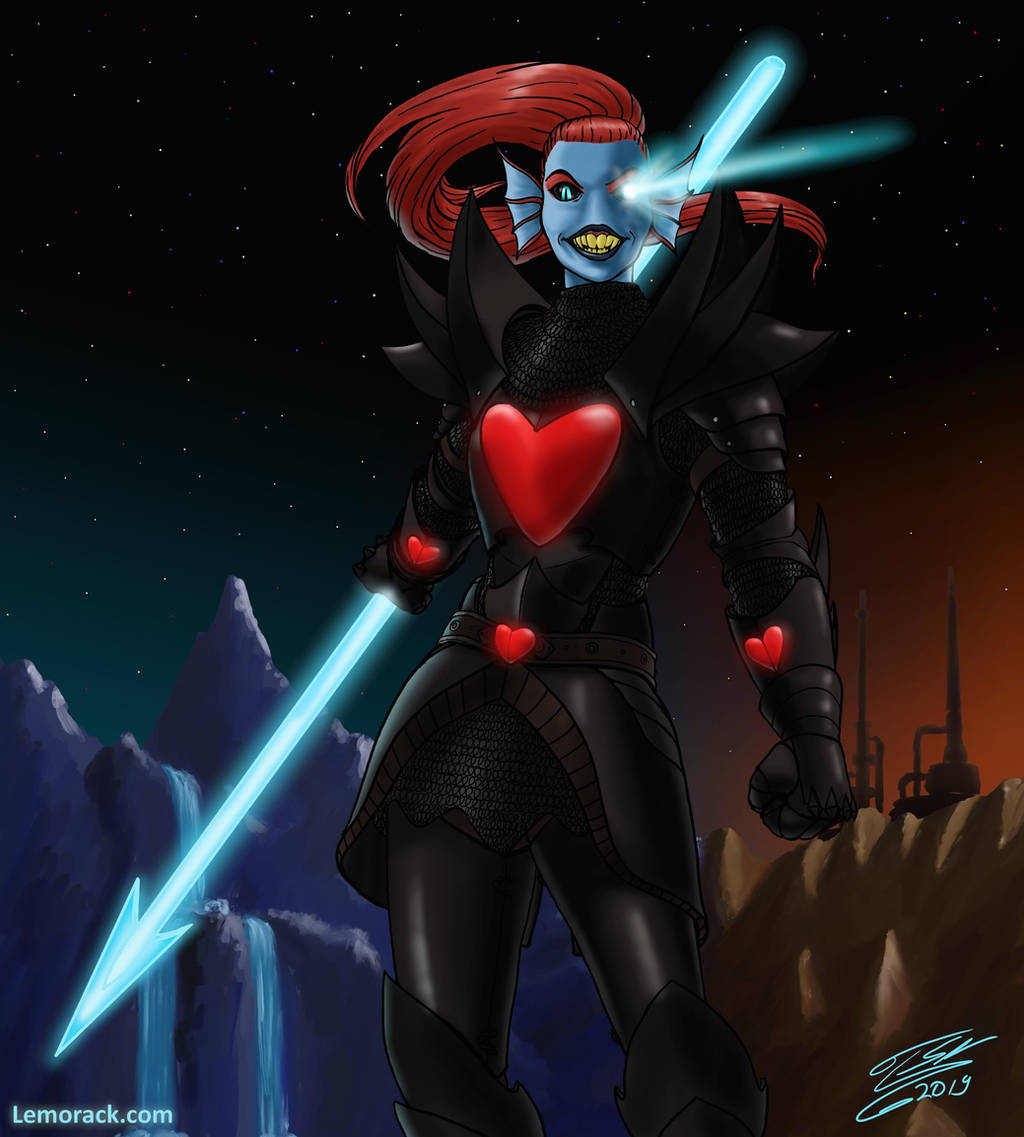 Undyne The Undying by SteveNoble197