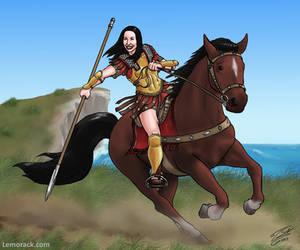Spartan rider by SteveNoble197