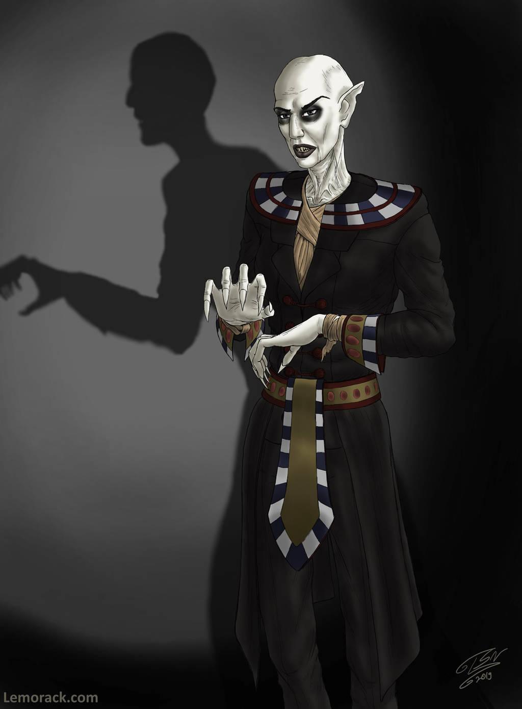 Ancient Vampire by SteveNoble197