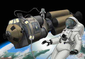Space Amazons Moonshot by SteveNoble197