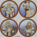 Token Collection - The Mythril Legion