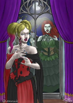 Harlivy Vampires - Balcony