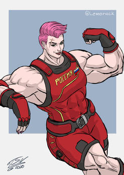 Even more buff Zarya