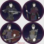 Token Collection - Dark Elves