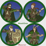Token Collection - Wood Elves