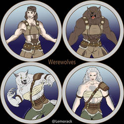 Token Collection - Werewolves