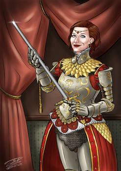 Noble Lady Portrait
