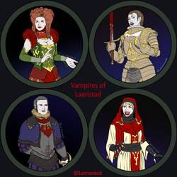 Token collections - Vampires of Laaristad