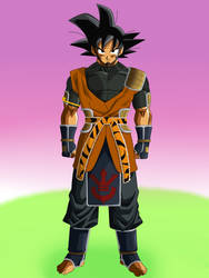 Son Goku TS full body by SkySonSSj1