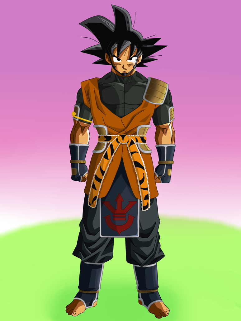 Son Goku TS full body by SkySonSSj1