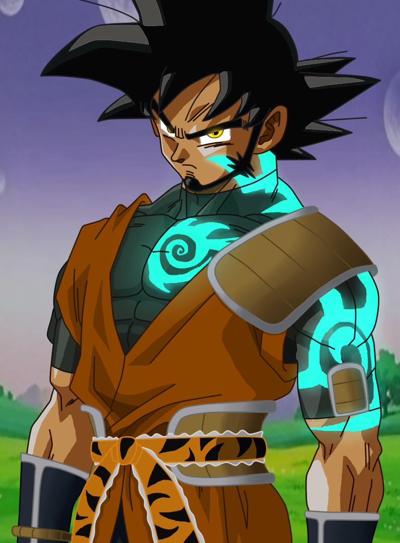 Goku's magic tattoo by SkySonSSj1