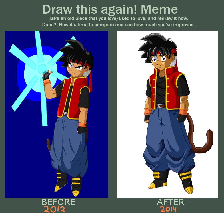 Draw This Again Meme-Sky Son by SkySonSSj1
