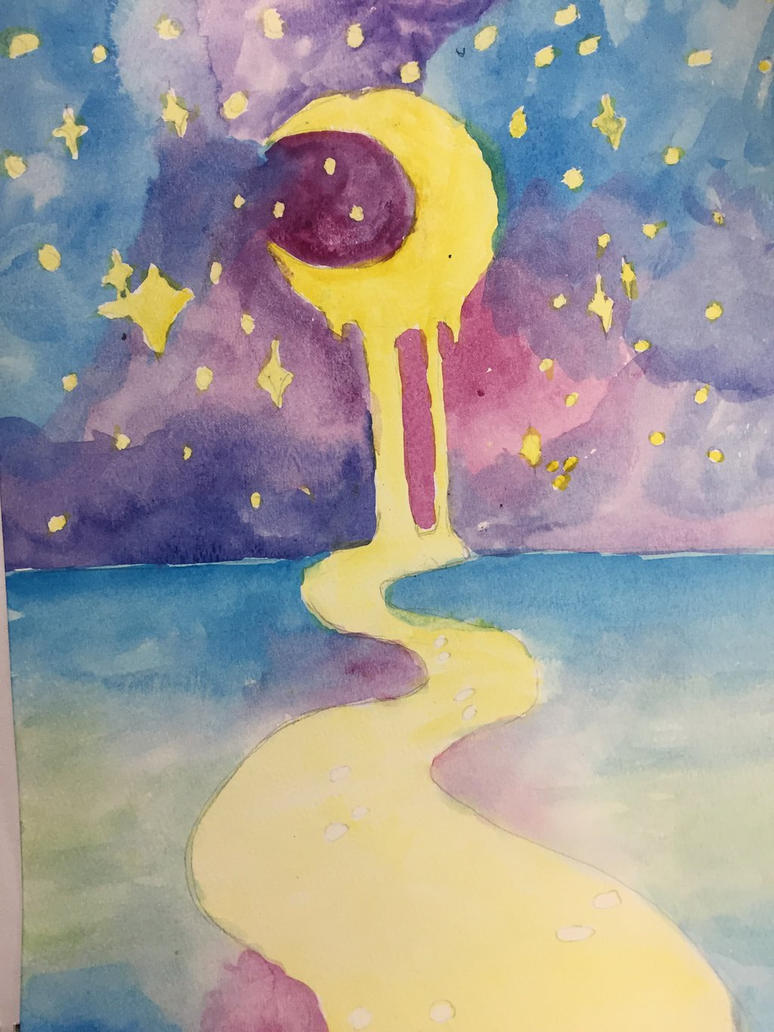 twinkling moon (unfinished) by peepeeprincess