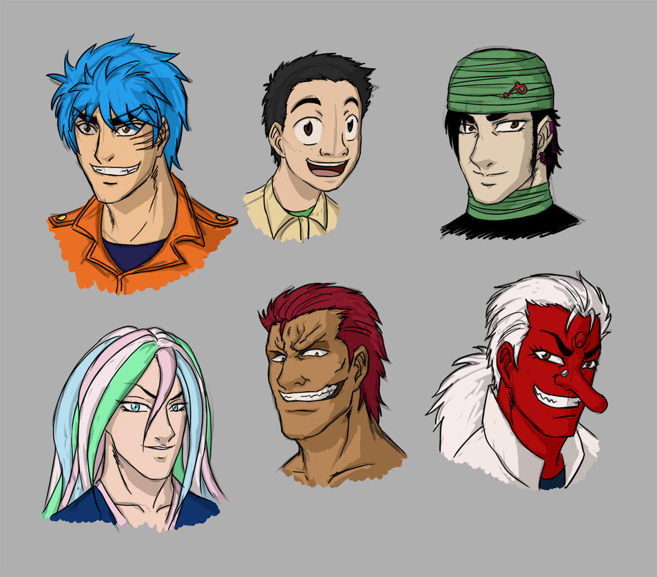 Toriko Sketches By Rosyan On DeviantArt