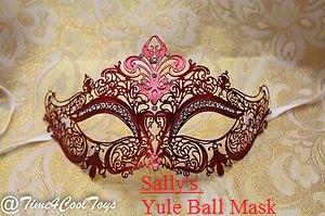 Sally's Yule Ball Mask by HPandThe13GirlsPlus1