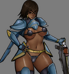 Overwatch - Pharah Pinup - Censored
