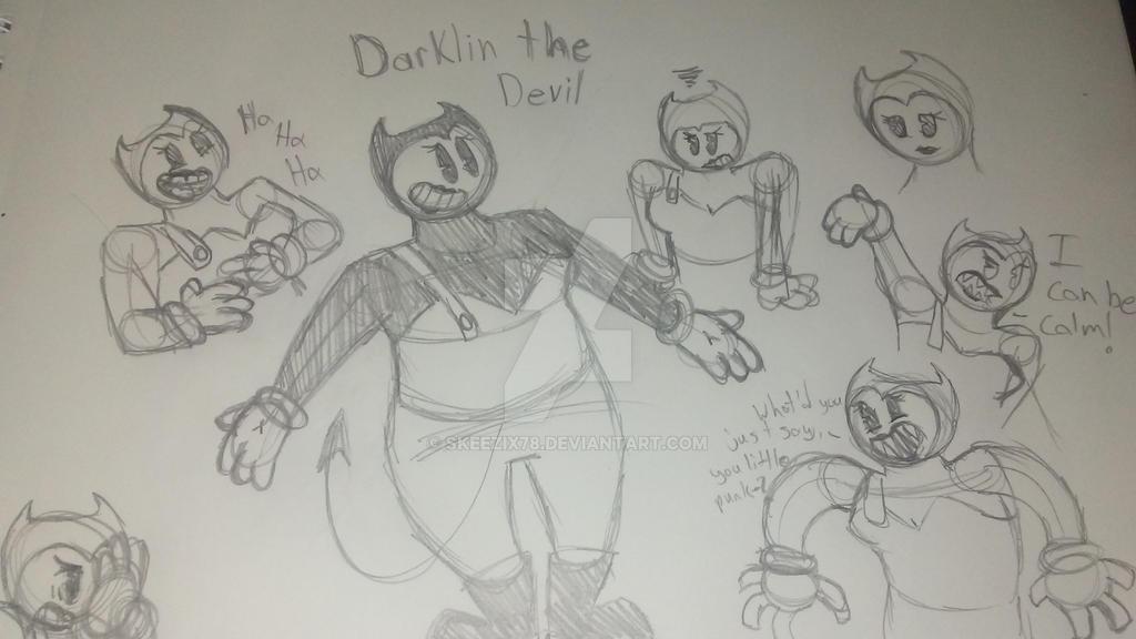 Darklin the Devil expressions by skeezix78