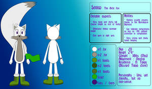Snow the Arctic Fox reference