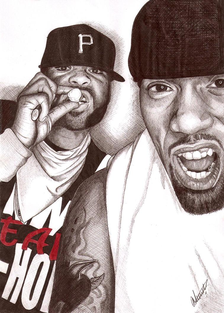 Redman Method man ballpoint by Craig-Stannard