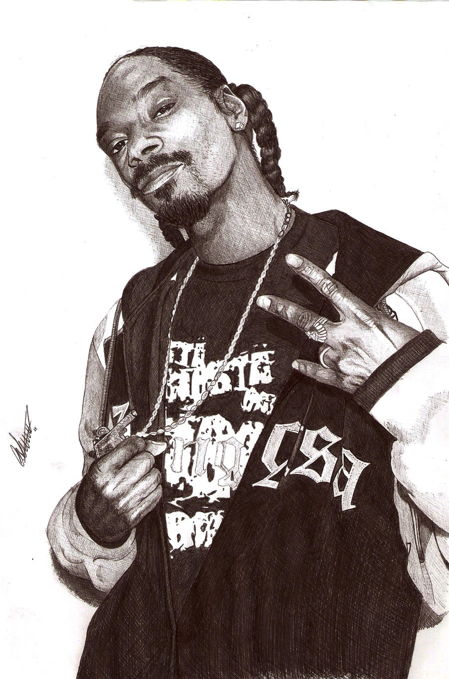 Snoop Dogg Ballpoint by Craig-Stannard