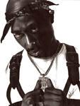 Tupac Ballpoint Portrait