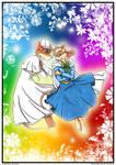 Floating in Wonderland Colored