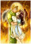 I'll never let you burn...