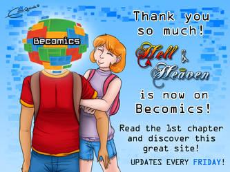 Hell and Heaven on Becomics