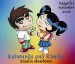 Ray and Kim cute 1