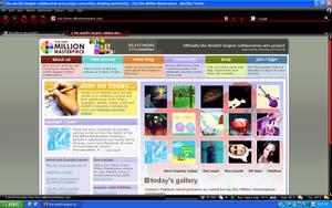 OMM site snapshot