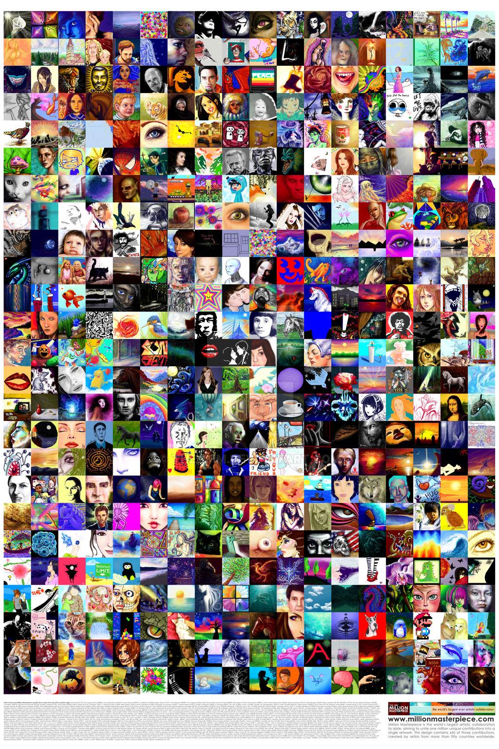 Million Masterpiece Mosaic