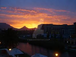 Beautiful Cape Town Sunset