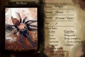TMM - Fluffy Pet Sheet