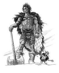 Slaine the Horned God by ChrisQuilliams