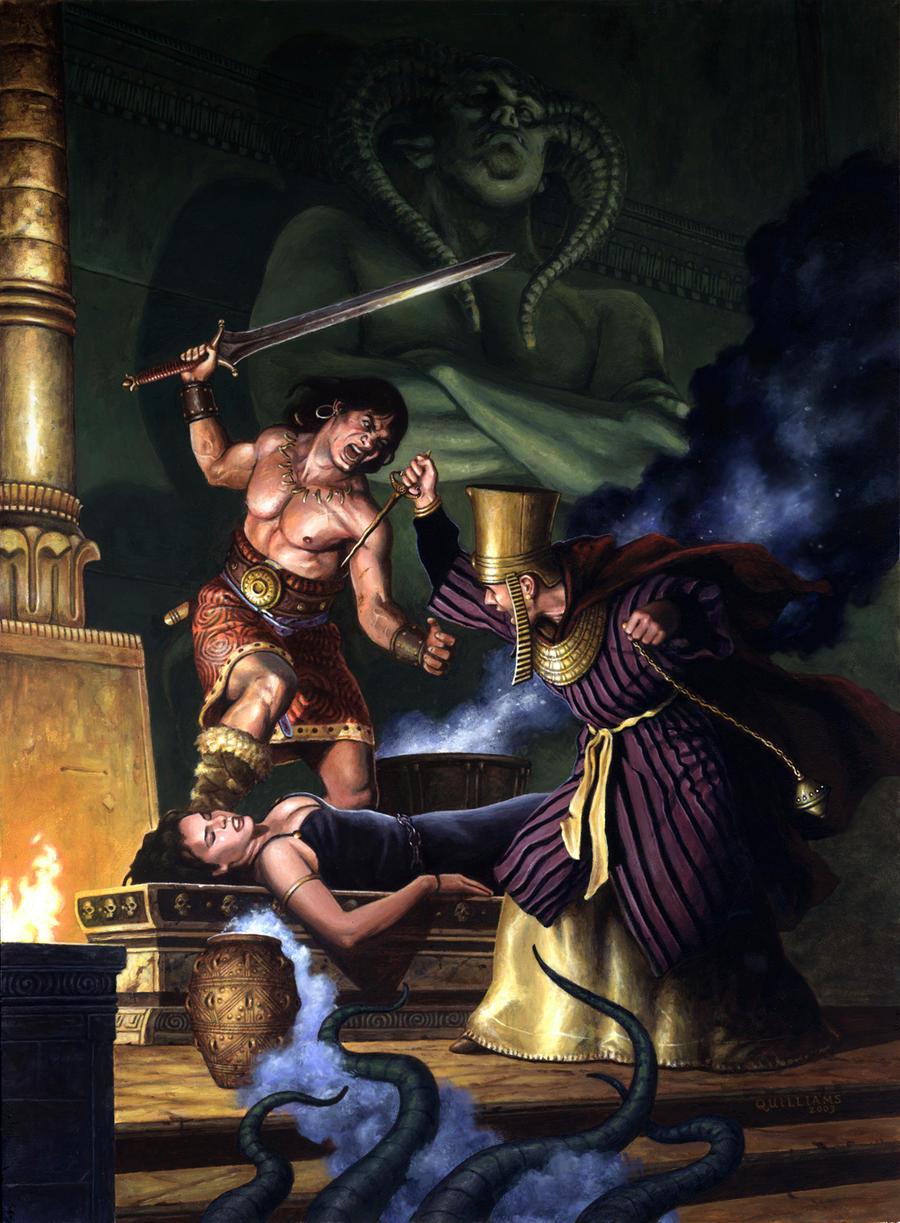 Conan- The Scrolls of Skelos