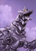 Mecha Godzilla by ChrisQuilliams