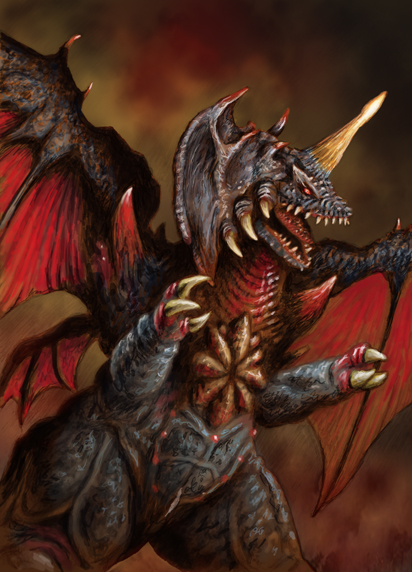 Destroyah by ChrisQuilliams on - 245.5KB