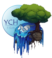 River Island   YCH [ 3/5 OPEN] by Nukinit