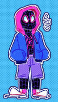 miles morales by red-explo