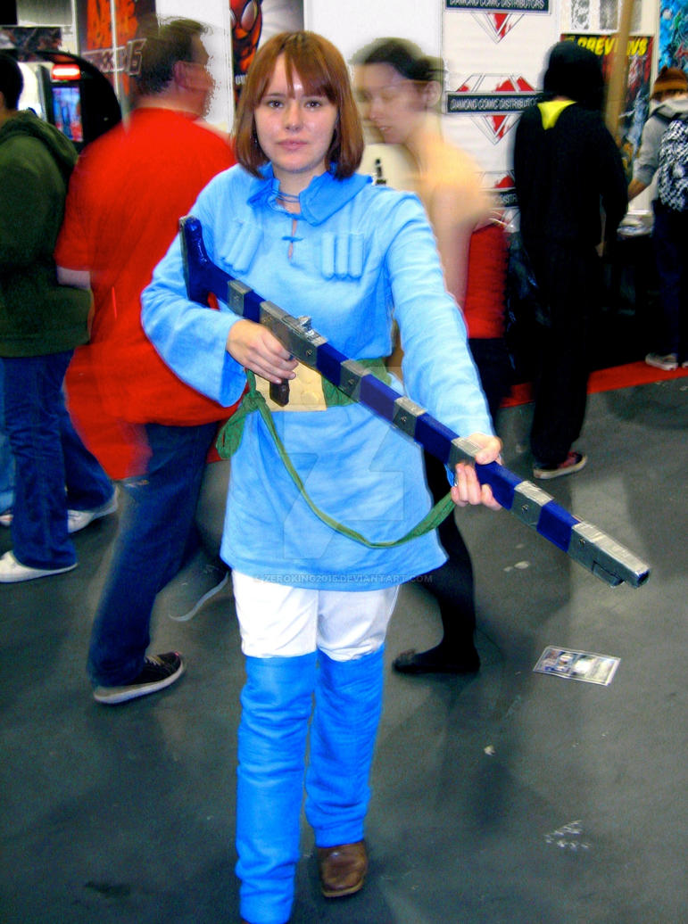 Nausicaa of The Valley of The Wind by ZeroKing2015