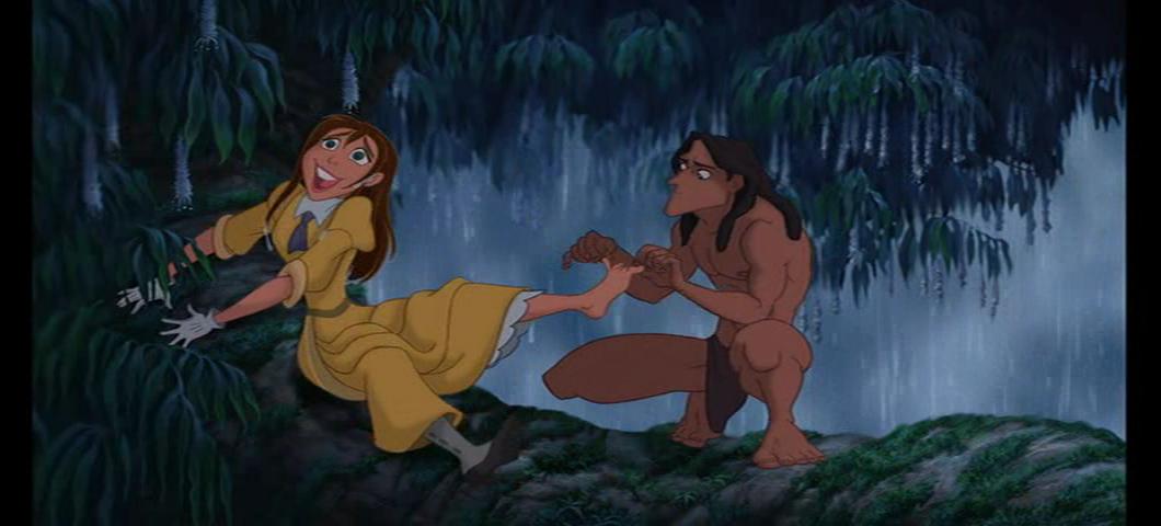Jane Tickled By Tarzan by ARC33