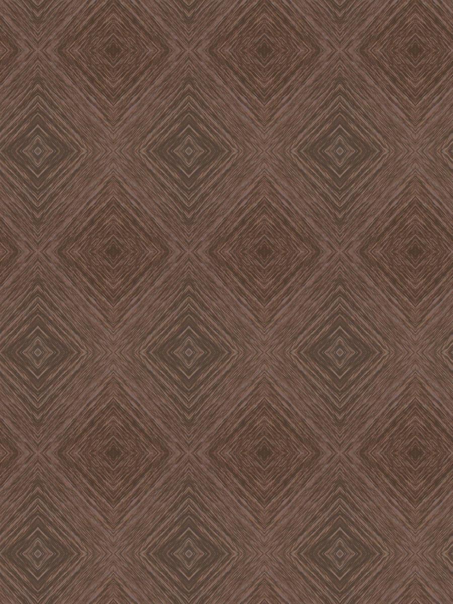 Brown diamond pattern