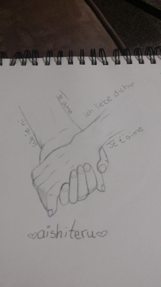 Was practicing hands :P by KittyTasteTheRainbow