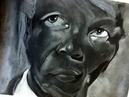 Nelson Mandela by pullyayze