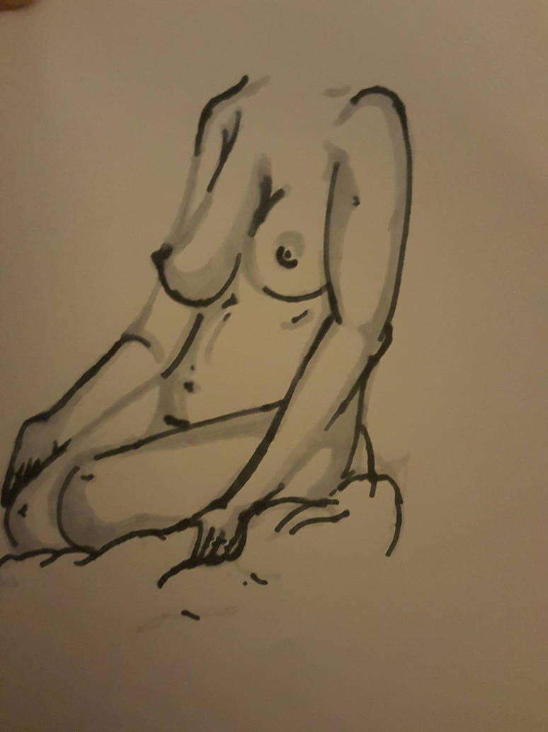 life drawing  by pullyayze