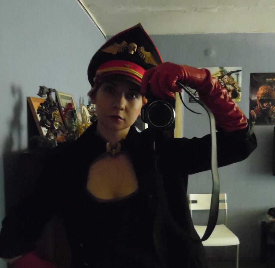 Imperial Guard Commissar Cosplay