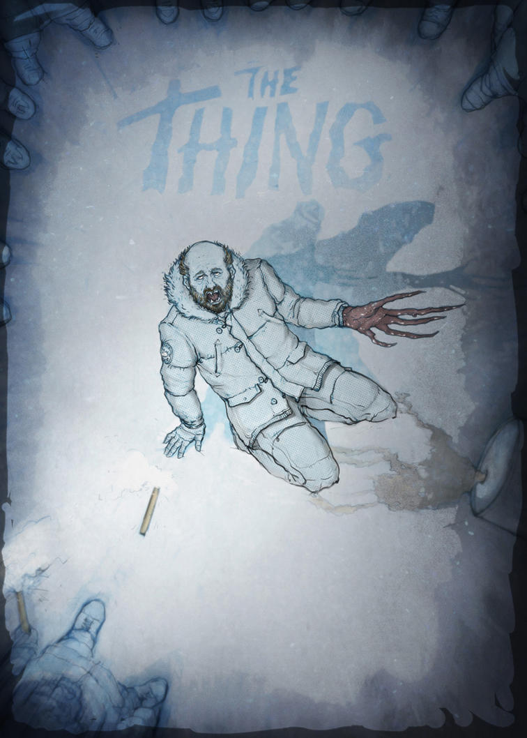 The Thing. by Tomekkaz