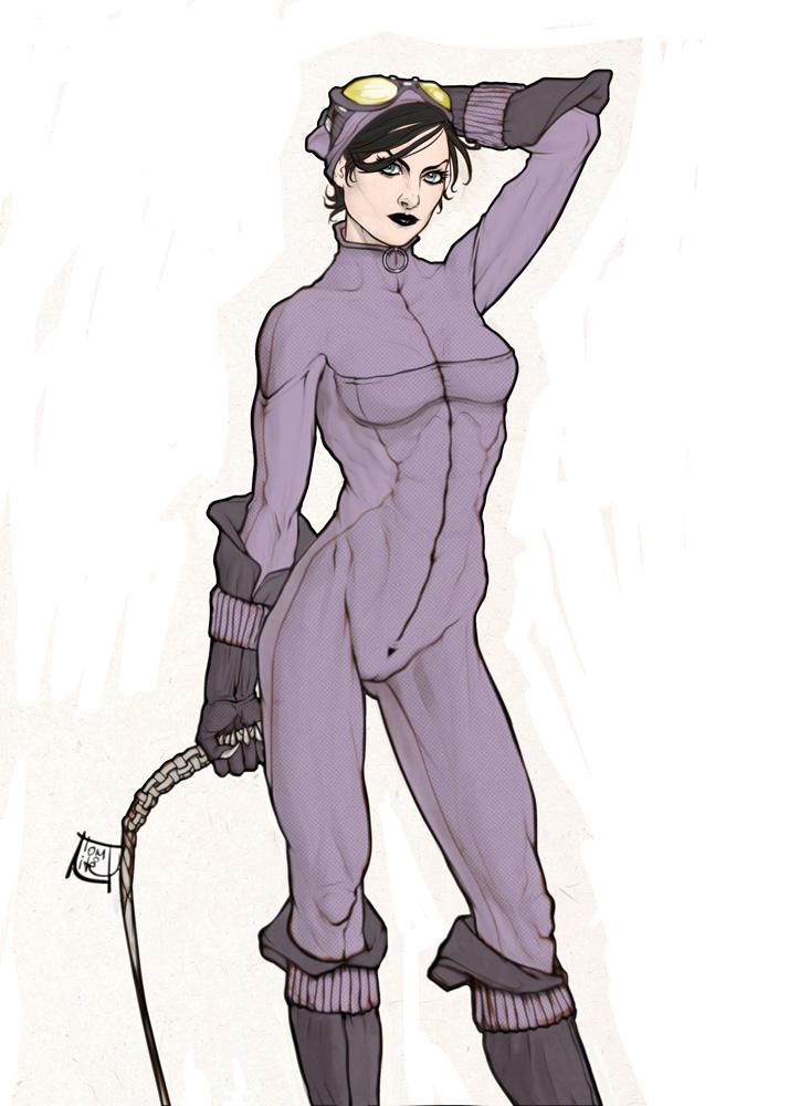 Purple Cat I. by Tomekkaz